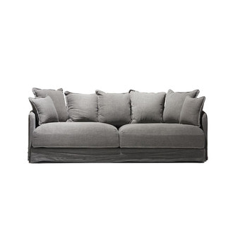 chapter1(챕터원),[주문 후 4개월 소요] Comfortable Cushion Sofa 3seater Set _Grey