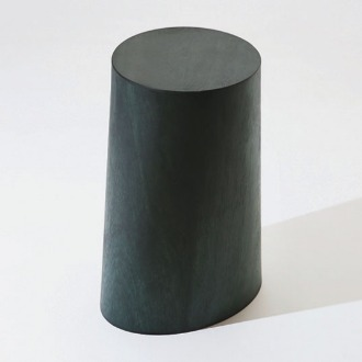 chapter1(챕터원),USEFUL SHAPE MIDDLE STOOL, Deep green