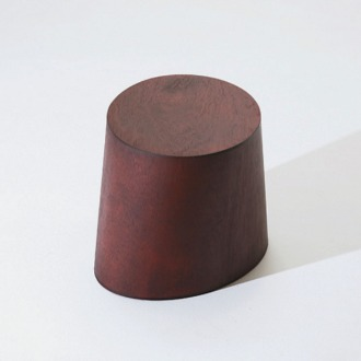 chapter1(챕터원),USEFUL SHAPE LOW STOOL, Deep red