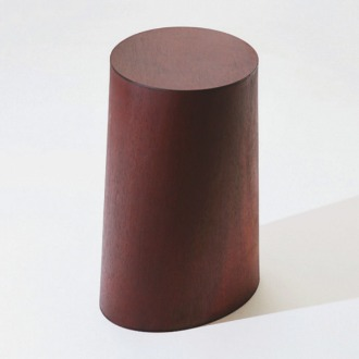 chapter1(챕터원),USEFUL SHAPE MIDDLE STOOL, Deep red