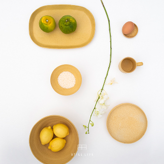 chapter1(챕터원),[3월 중순 입고예정][Chapter1 Edit] Ceramic Tableware - Yellow