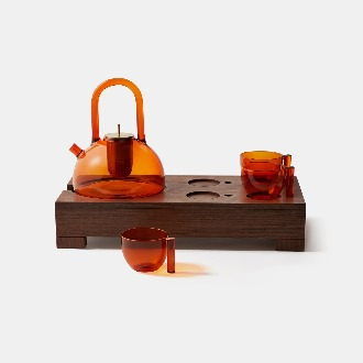 chapter1(챕터원),THE FLAME TEA SET (AMBER)