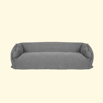 chapter1(챕터원),[35회차 예약중, 4월 입고] Comfortable Sofa Round 3seater _Grey