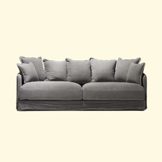 chapter1(챕터원),[35회차 예약중, 4월 입고] Comfortable Cushion Sofa 3seater Set (4 colors)
